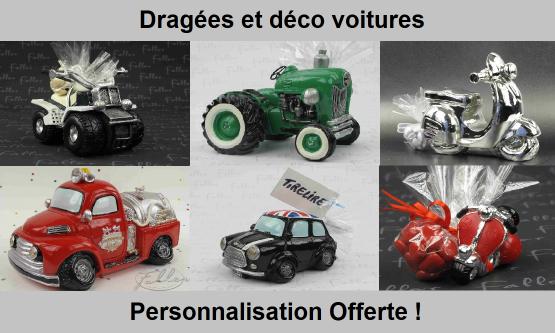 Déco thème véhicules : voiture, moto, camoin, tracteur...