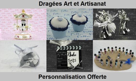 Dragées art - Déco thème art et artisanat